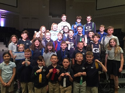 GCA students succeed at Math Olympics!