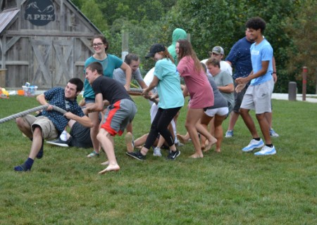 2018 Junior/Senior Retreat to Carolina Point