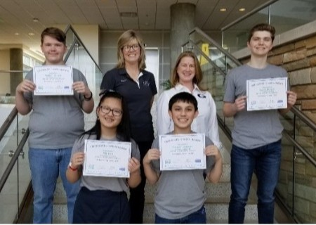 "GCA Middle School students succeed at ""You Be the Chemist""!"
