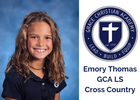 GCA Lower School Cross Country runner qualifies for State Competition
