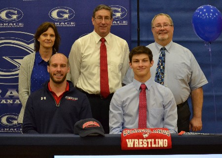 Eric Beecham signs with University of the Cumberlands