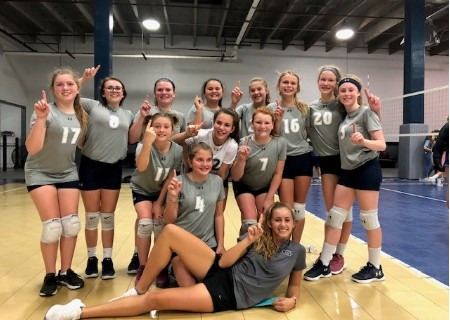 GCA Middle School Volleyball Team wins Championship