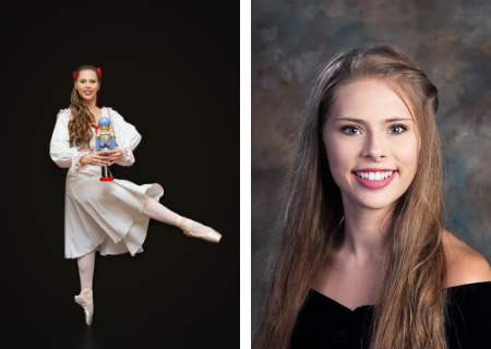 GCA student, Grace Powers, performs in The Nutcracker