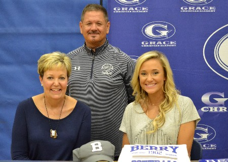 GCA senior, Kristin Hunt, signs with Berry College