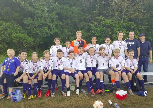 GCA MS Boys Soccer wins Tournament!