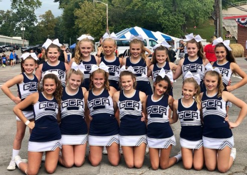 GCA MS Cheer Team competes at the Tennessee Valley Fair