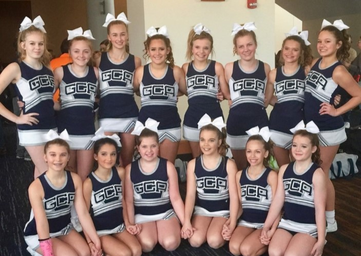 MS Cheer Team Wins First Place!