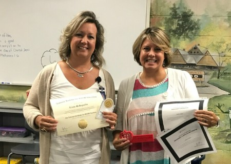 GCA faculty members earn Certifications