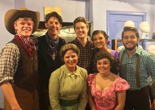 "GCA students perform in ""Oklahoma"""