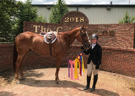 GCA student competes at the AQHA Youth World Show