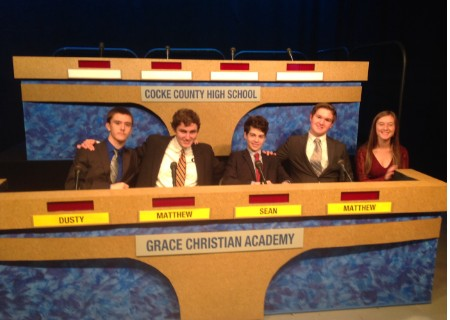 GCA Scholars Bowl Team Victorious