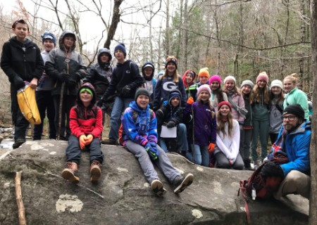 GCA Sixth-Graders Enjoy Retreat to Tremont