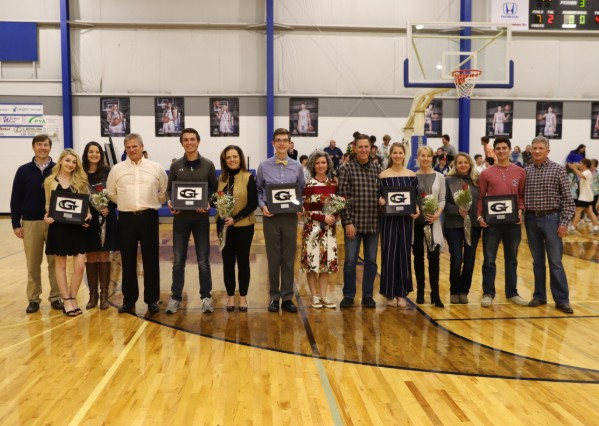 GCA Senior Golfers and Cross Country Team Members Recognized